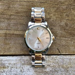 4 for $20 Charming Charlie Mixed Metal Watch